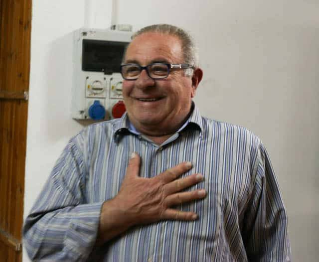Ernesto Paternoster, Gracious Winemaker and Giver of Olive Oil Basilicata Italy