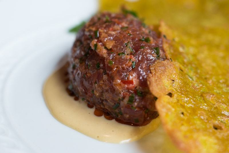 Tuna Tartare at Dirty French in New York City