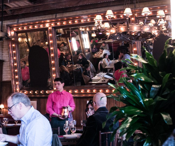 Inside Dirty French in New York City