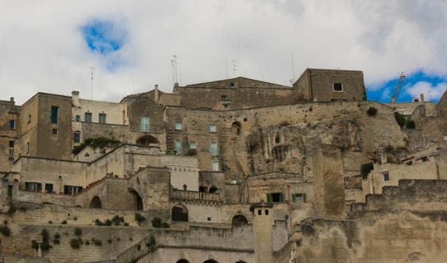 Sasso Caveoso in Matera Italy