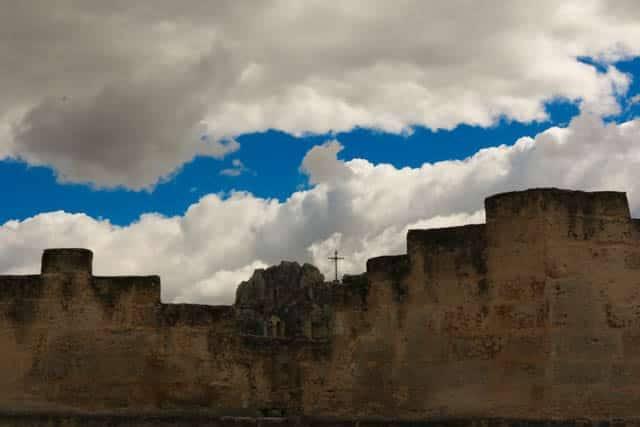 Matera View in Matera Italy