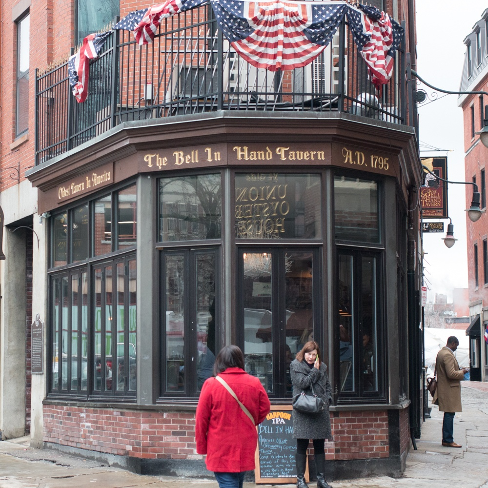 The Bell in Hand Tavern Boston