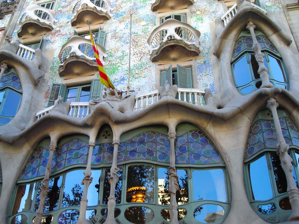 Casa Battlo Barcelona in Barcelona Spain