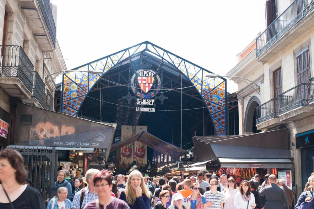 5 Ways to Eat in Barcelona. La Boqueria is ranked as one of the best markets in the world. The market is a must for anybody who loves food. Eat in Barcelona