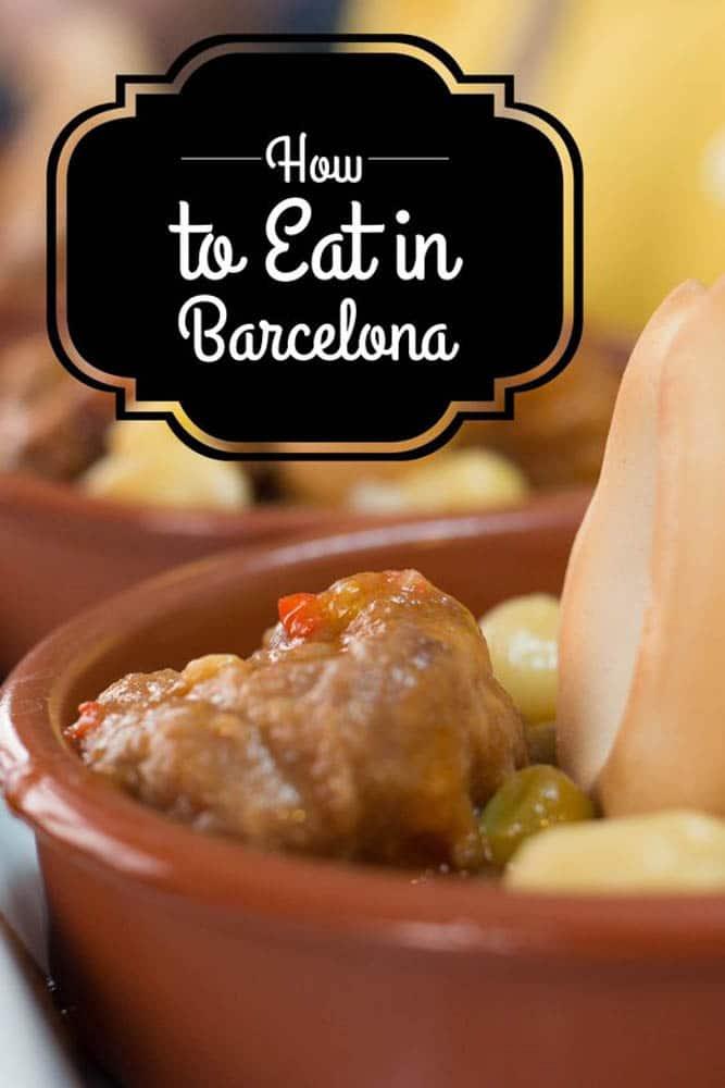 5 Ways to Eat in Barcelona | Barcelona | Spain | Barcelona Spain |  Barcelona Restaurants | What to Eat in Barcelona | Where to Eat in Barcelona | Tapas | Barcelona Food Tour | Barcelona Barcelona | Food Markets | Cava | #Barcelona #Spain #BarcelonaFood