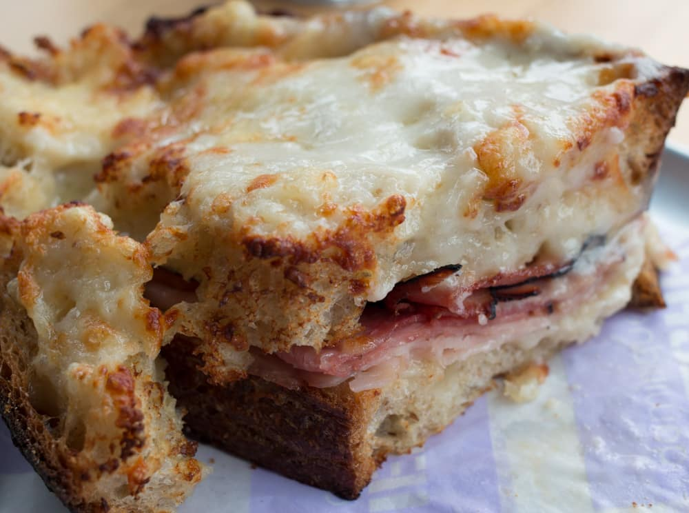 The croque monsieur is an epic sandwich, oozing with cheese and loaded with ham. As a bonus, it's perfect to share since saving room for dessert is a must when you dine at Dominique Ansel Kitchen. New York Quickie - Holiday Edition