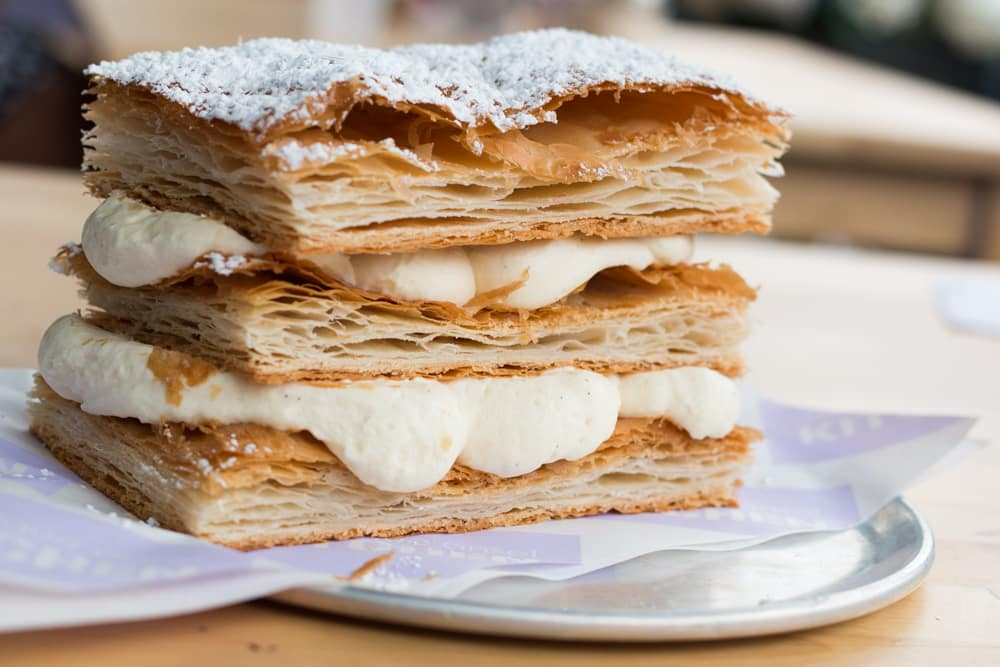 Extra Fluff Mille Feuille at Dominique Ansel Kitchen in New York City