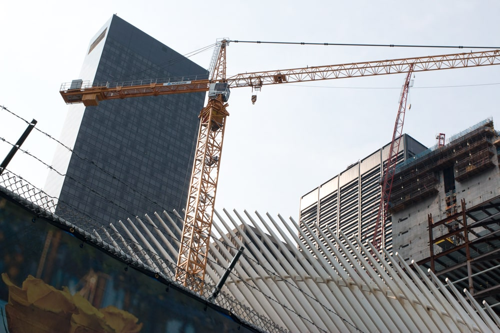 Ground Zero is a major construction site and tourist spot in lower Manhattan. New York Quickie - Holiday Edition