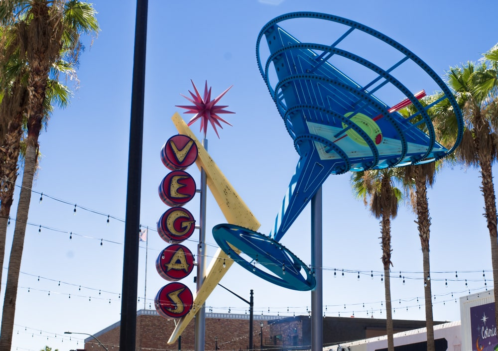 Down Las Vegas has not lost its kitschy vibe despite the exciting changes happening in the neighborhood. Exploring Downtown Las Vegas