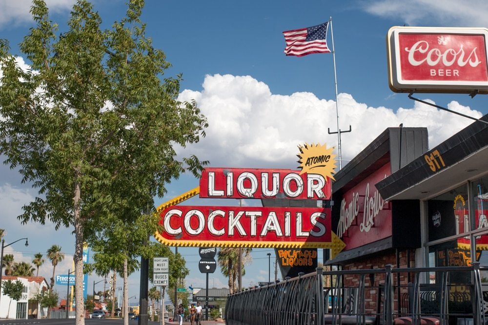 Atomic Liquors in Downtown Las Vegas Nevada