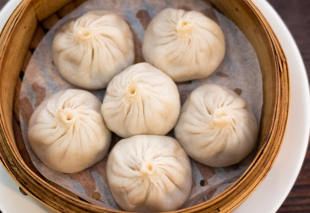 Soup Dumplings in Philadelphia Pennsylvania