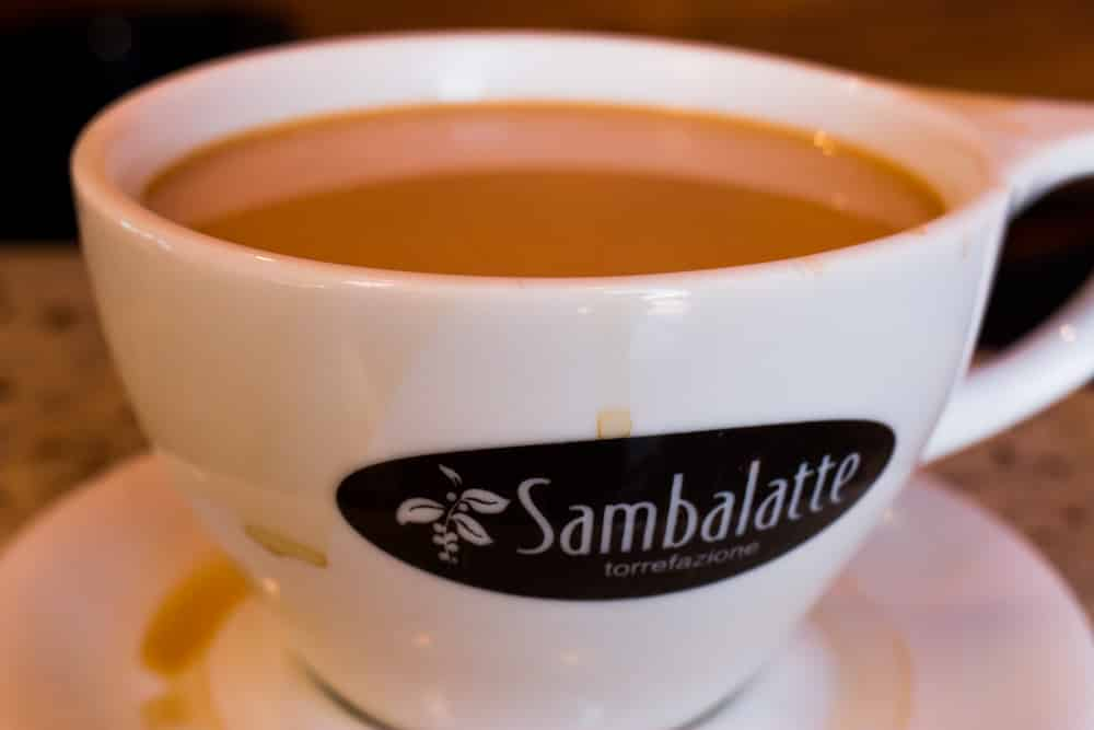 Whenever we're in Las Vegas, Sambalatte is our go-to coffee shop. Theirpour over coffee is potent and flavorful. las vegas off the strip