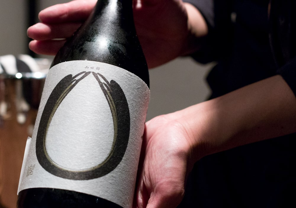 As recommended by our server, this bottle of sake complemented the many courses of our omakase meal. Raku in Las Vegas