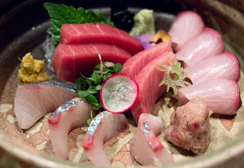 Sashimi at Roku Top 10 List 2015