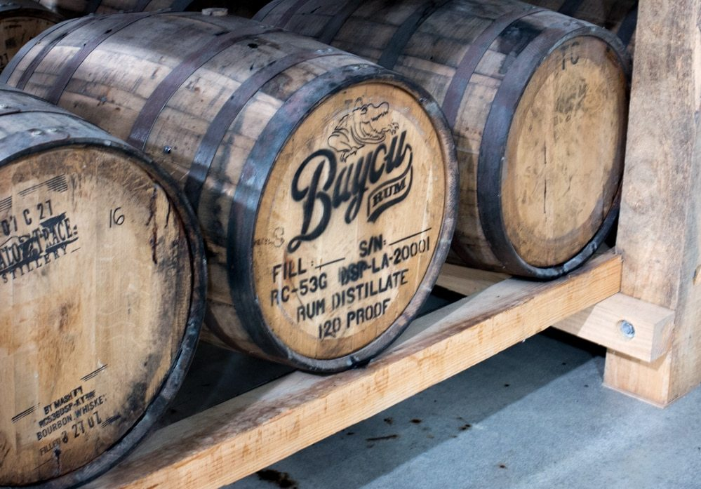 After the Bayou Rum is distilled, it rests in American fresh white oak barrels before it is bottled. The distillery secures pre-used barrels from Jim Bean and Buffalo Chase in Kentucky. The char from the barrels gives the rum its oaky taste. Seven Fun Things to do in Lake Charles Louisiana