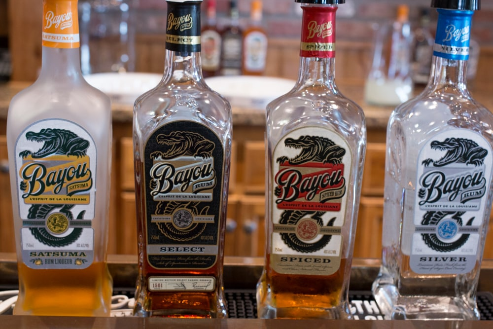 Bayou Rum Tasting - 7 Fun Things to do in Lake Charles Louisiana. Bayou Rum
