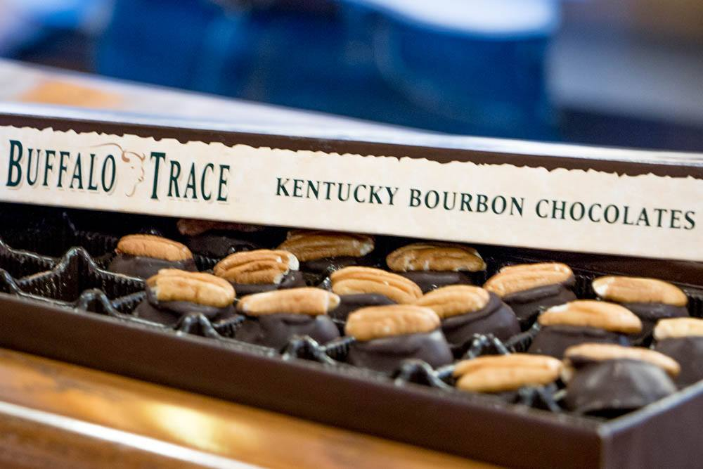 Buffalo Trace Kentucky Bourbon Chocolates