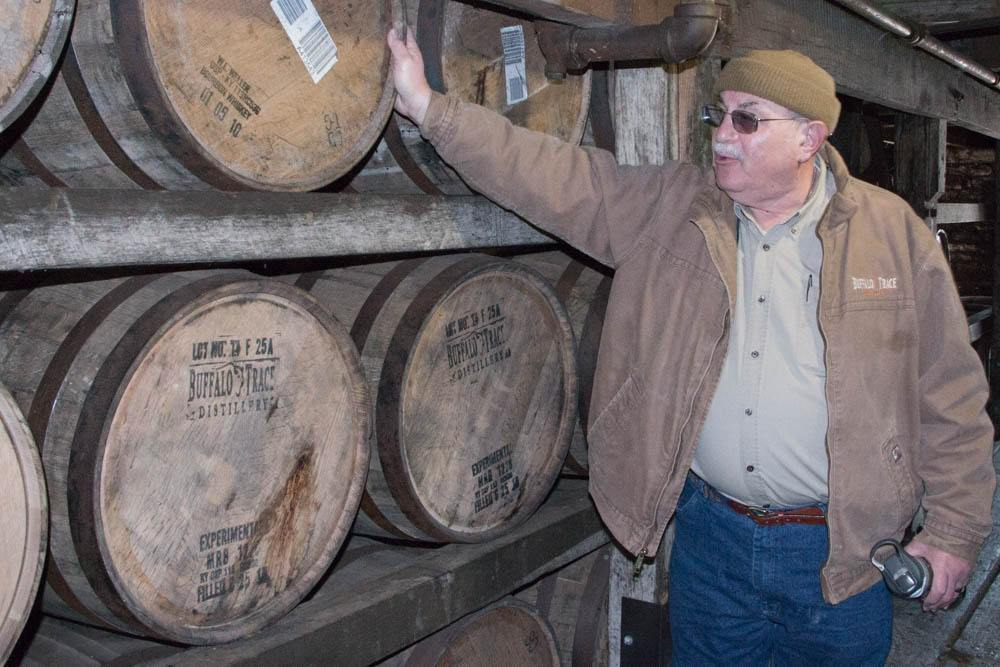 We were pleasantly surprised to find out that Buffalo Trace tour guide Fred Mozenter is a Philadelphia native. Our Philly connection added extra flavor to our hard hat Buffalo Trace distillery tour.