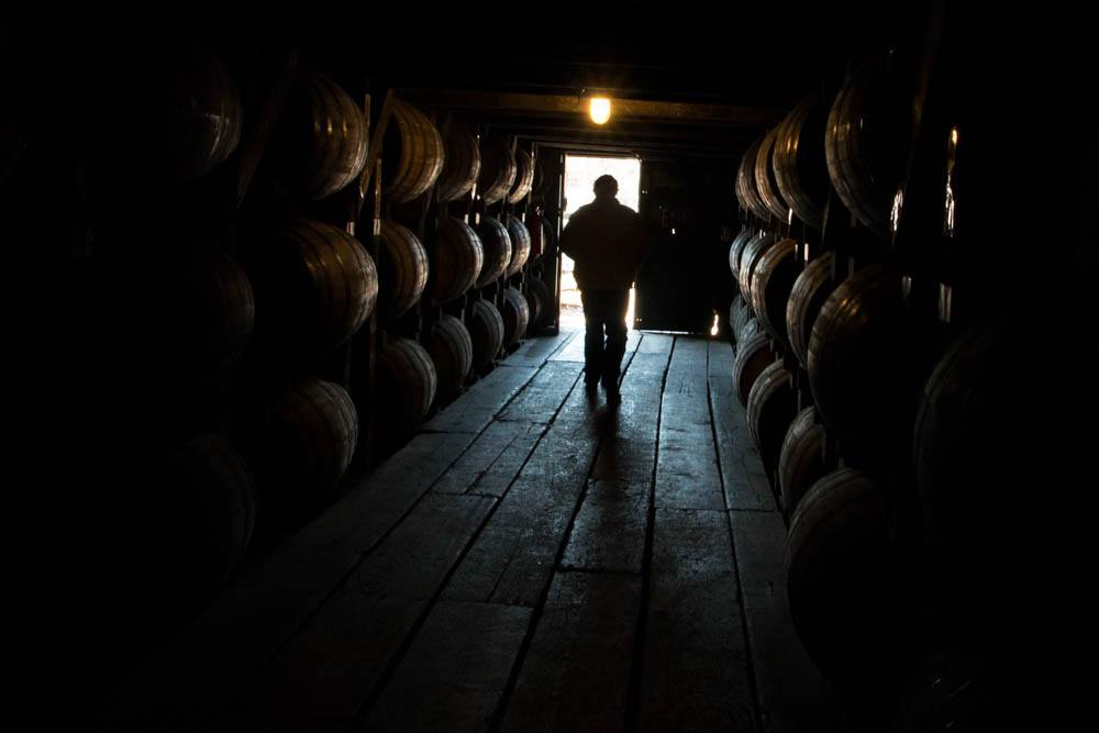 A Man and His Bourbon at the Buffalo Trace Distillery Tour