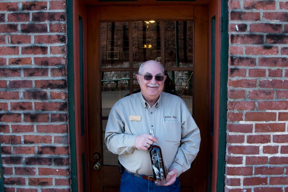 Buffalo Trace tour guide, Fred Mozenter, is a life long fan of bourbon. His goal is to make bourbon fun during his tours.