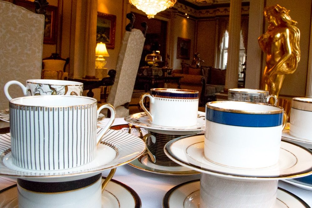 Tea Service at the Buhl Mansion in Sharon Pennsylvania