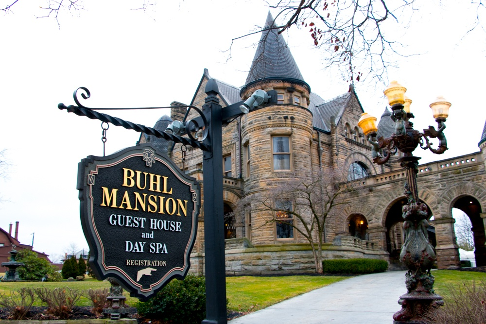 Romantic Weekend at the Buhl Mansion Sharon PA Pennsylvania, a Select Registry Hotel