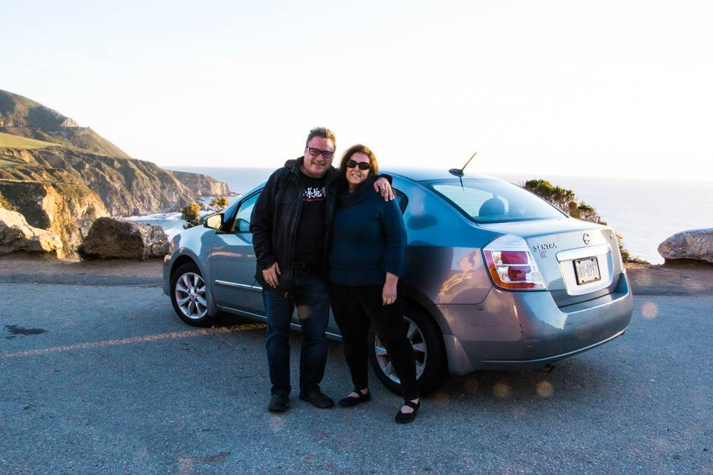 2foodtrippers on the Road at Big Sur