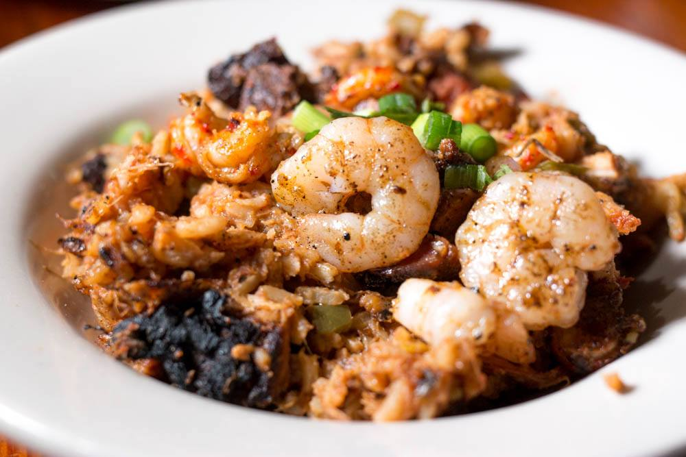 Jambalaya at Coop's Place in New Orleans - The Ultimate Cheap New Orleans Dish