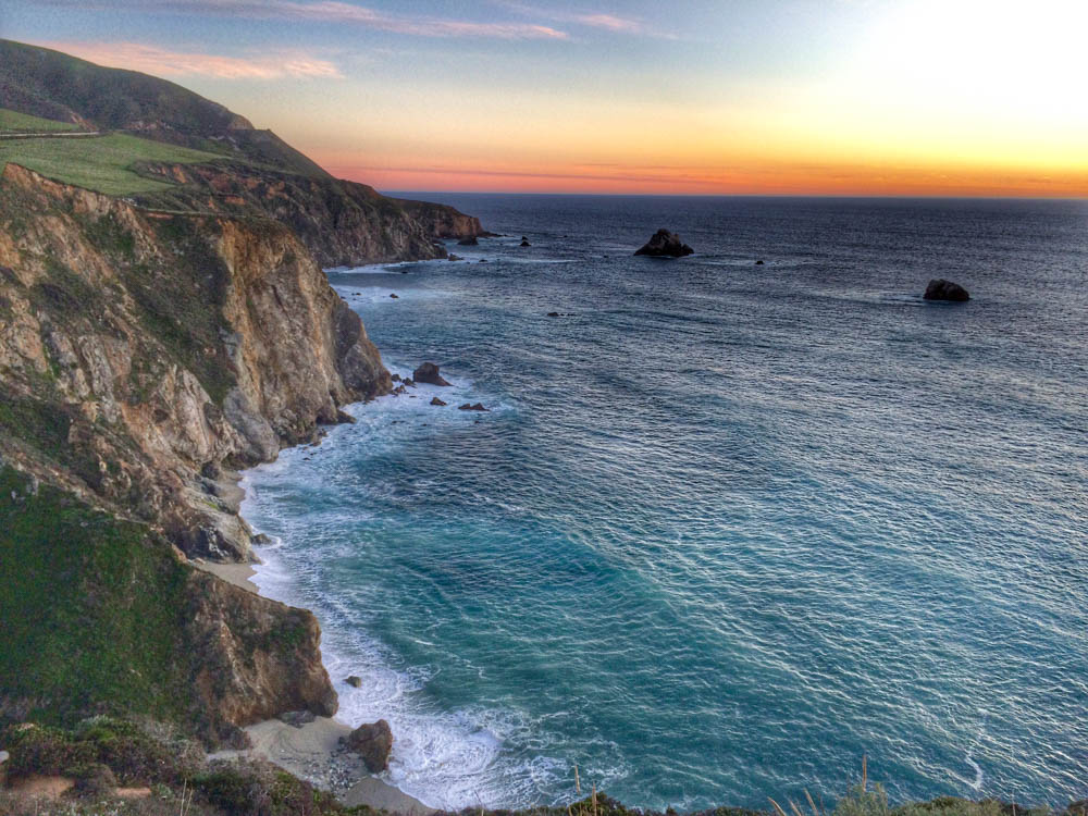 We still can't believe that we made it to Oregon and back to Philly in our compact car. One of our rewards was views like this one that we experienced while driving on the Pacific Coast Highway. Call to Travel Dream 2foodtrippers