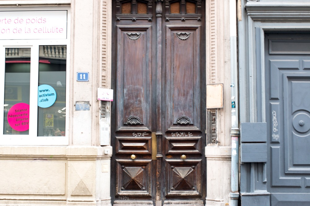 We were filled with trepidation as we first exited the door of our Rue D'arbre Sec apartment. But once we settled into Lyon life, an entirely new world opened its door to us. Lyon Opening the Culinary Door 2foodtrippers Lyon Apartment