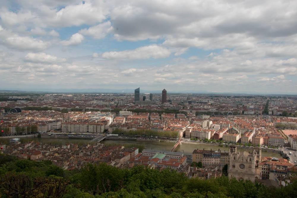 Lyon as Viewed from Fourviere. Living in Lyon like Locals