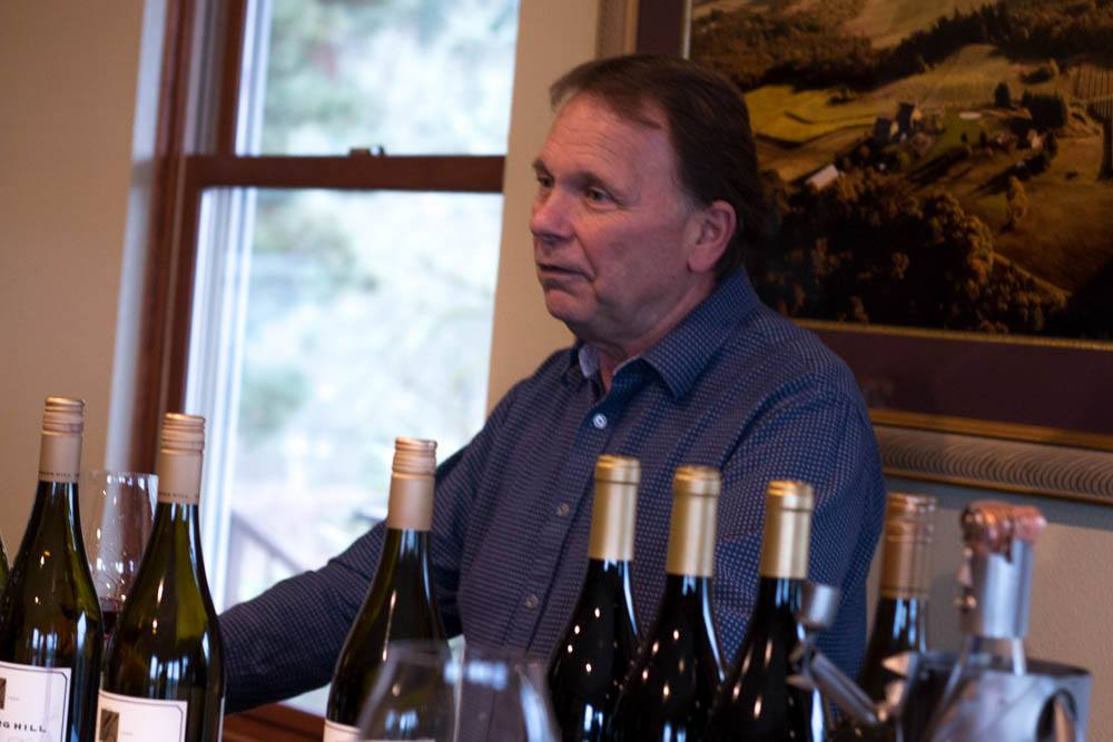 Wayne Bailey has owned Youngberg Hill since 2003. He produces estate grown Pinot Noir and Pinot Gris. Wine with a View in Willamette Valley Youngberg Hill 2foodtrippers