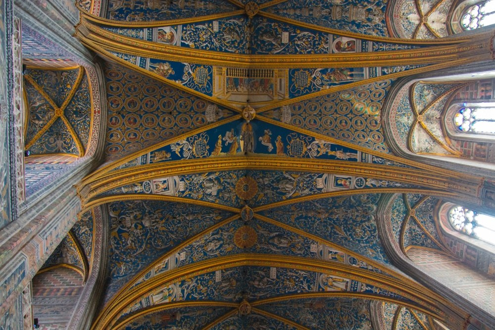 Albi Cathedral Ceiling in Albi France