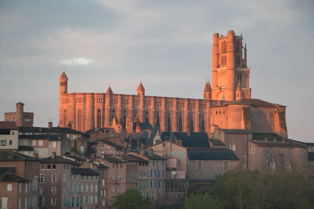 Albi Cathedral in Albi France