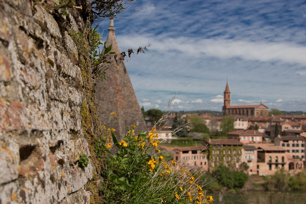 Scenery in Albi France
