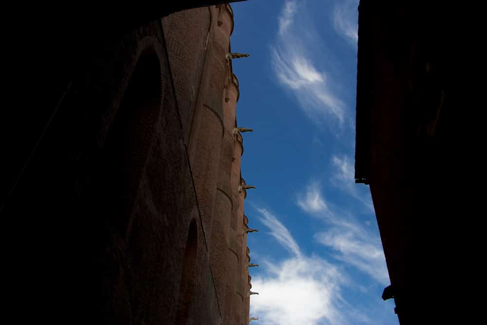 Sky View in Albi France