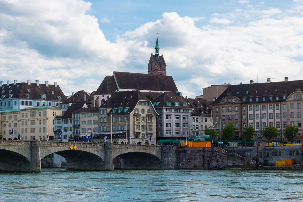 It's easy to walk for miles in Basel Switzerland without ever getting tired of the river view. Things to Do in Basel Switzerland that Won't Break the Bank