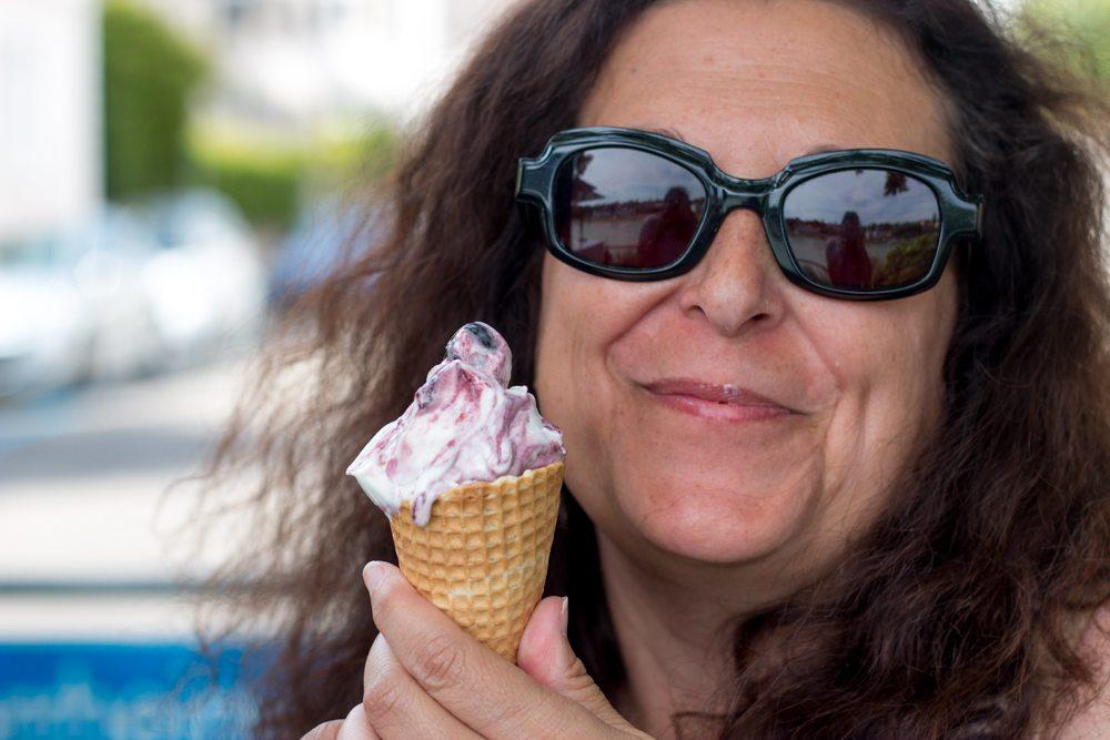 Amerena Ice Cream Cone in Basel Switzerland
