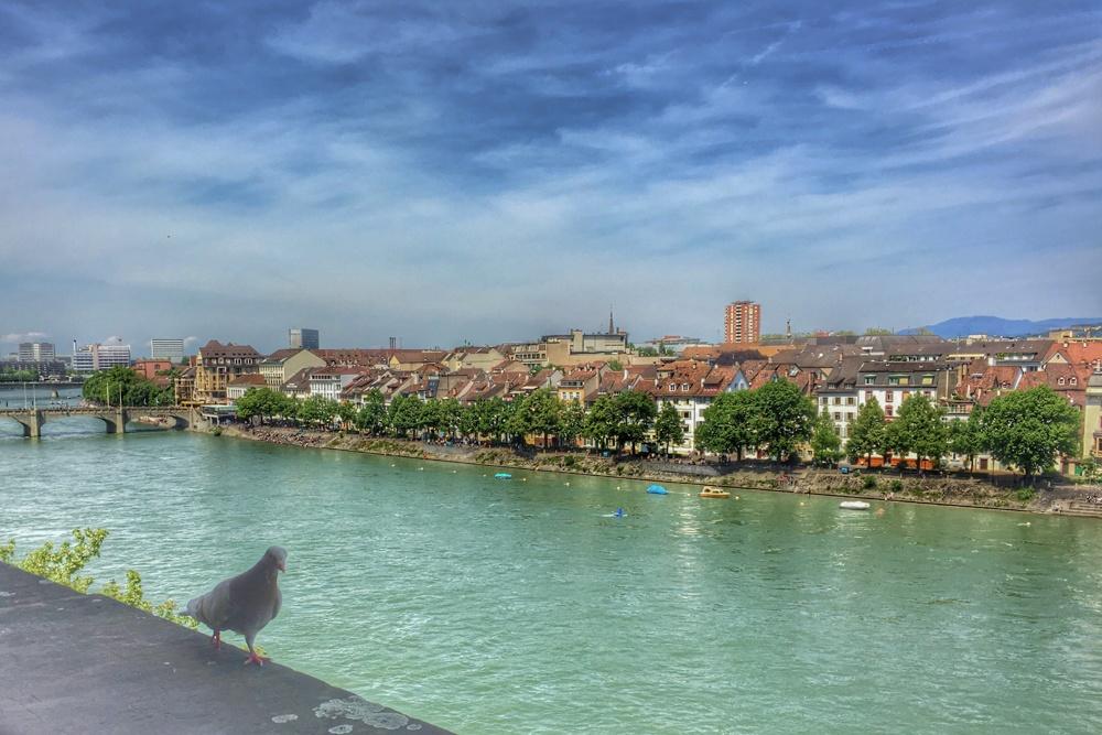 Bird's Eye View of Basel Switzerland - Things to do in Basel Switzerland that Won't Break the Bank
