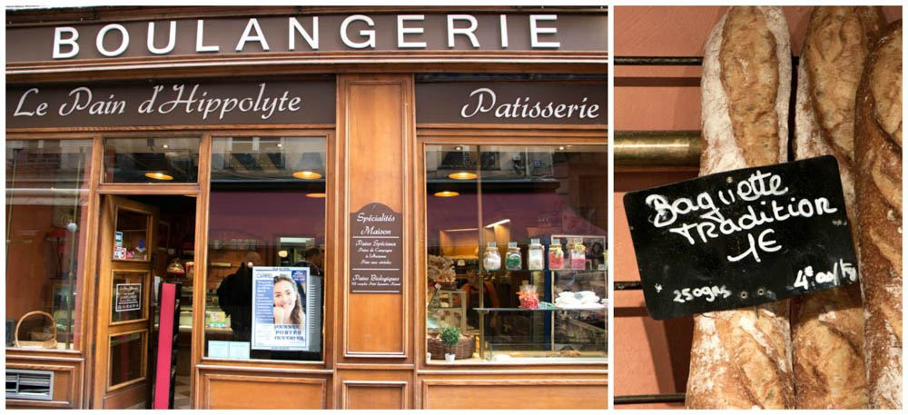Le Pain d'Hippolyte Boulangerie - Where to Eat in Lyon France - A Lyon Food Guide