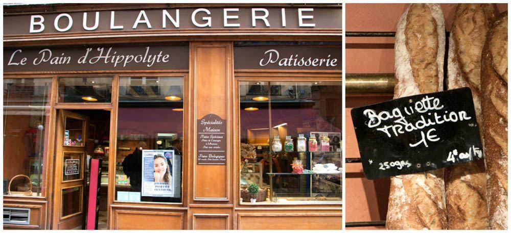 Le Pain d'Hippolyte Boulangerie in Lyon France