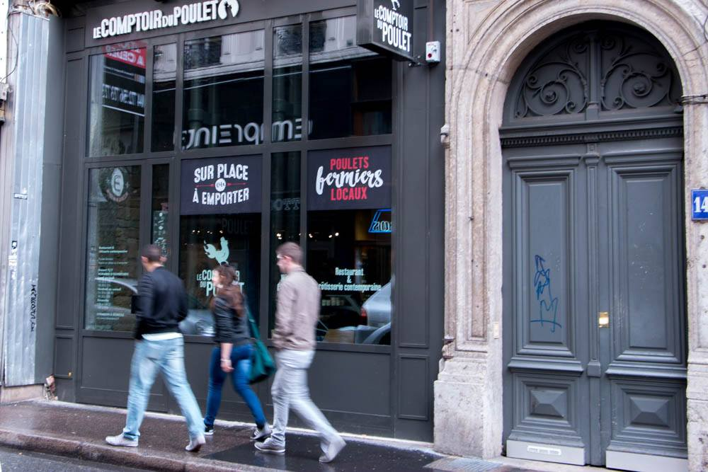 Comptoir du Poulet in Lyon France