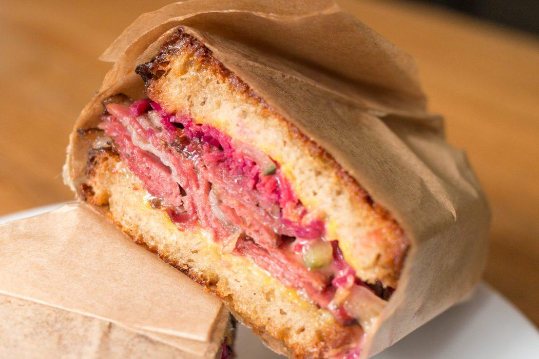 Frenchy To Go Reuben Sandwich in Paris France