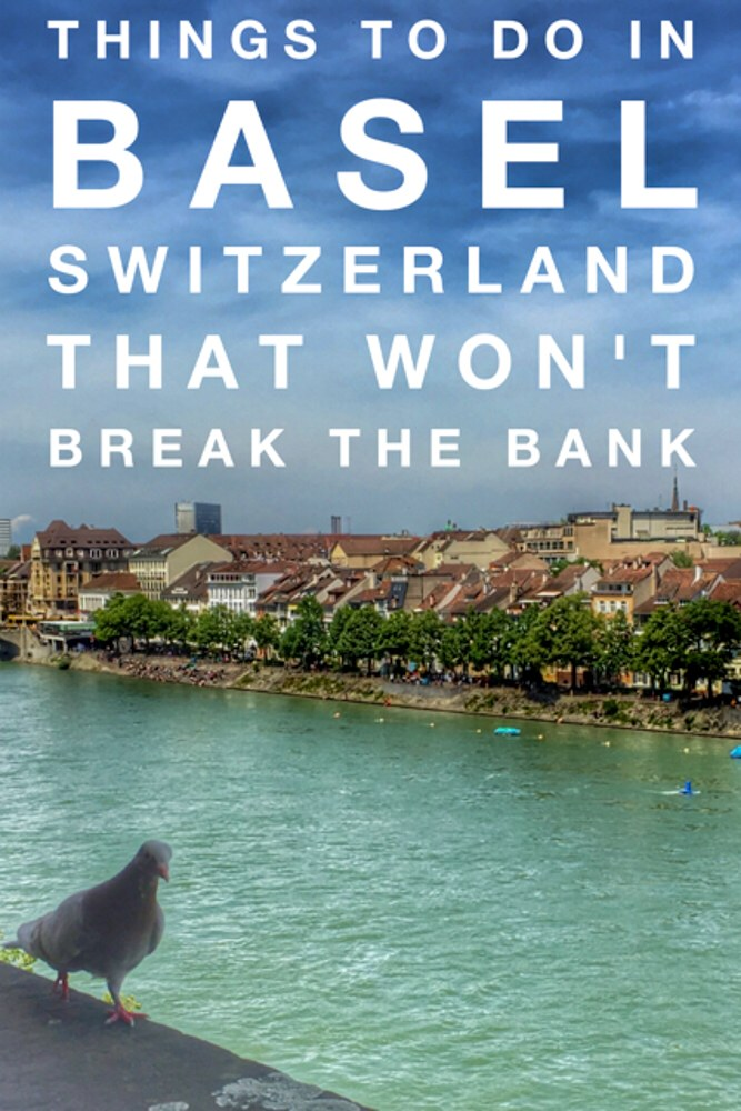 Things to do in Basel Switzerland Pin
