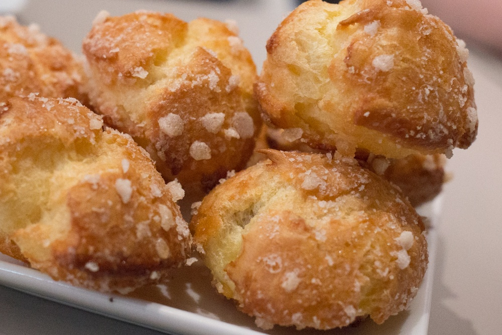 Eric Kayser Chouquettes - Paris Baguette to Bistro Food Tour