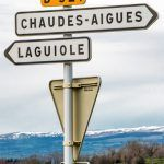 Pinterest image: image of Laguiole with caption 'Visiting the True France in Laguiole'