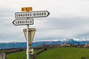 Sign to Laguiole France