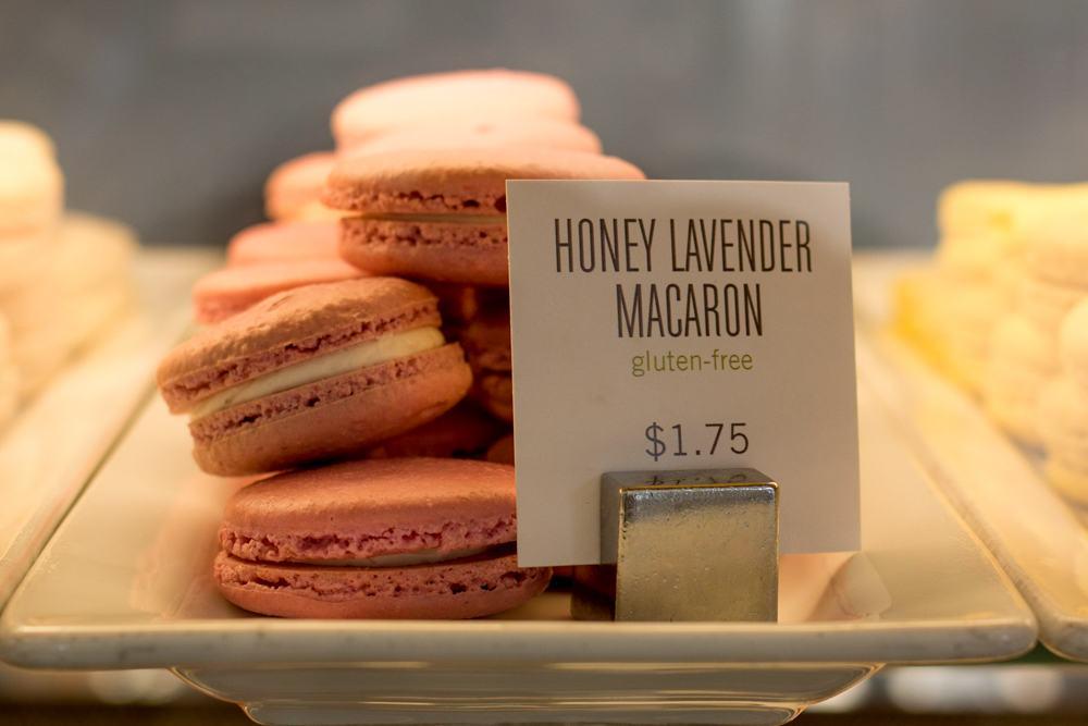 Where to Eat in Columbus Ohio - Macarons at Pistacia Vera