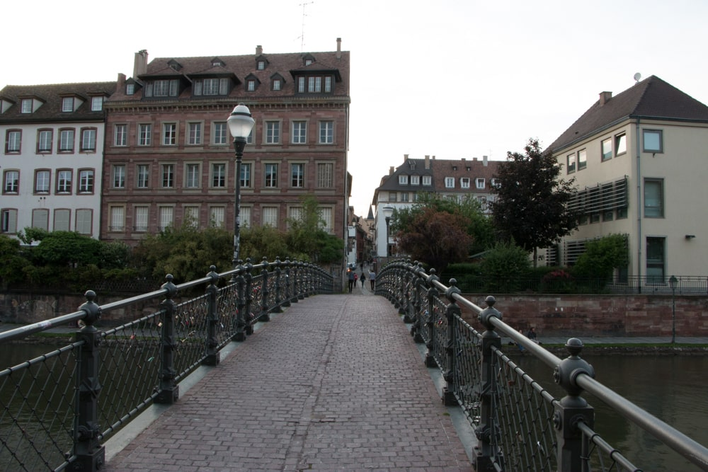 Bridge in Strasbourg France