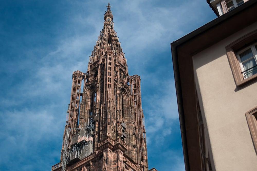 Cathedral Notre Dame in Strasbourg France